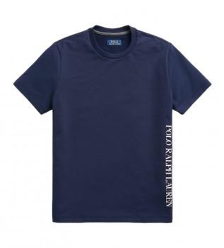 Buy Ralph Lauren Sleep Knitted T-Shirt with navy logo