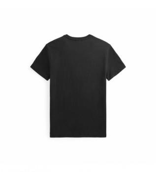 Buy Ralph Lauren Custom Slim Fit T-shirt with Big Pony black