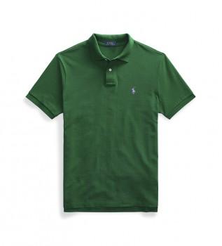 Comprare Ralph Lauren Polo in piqué Custom Slim Fit verde