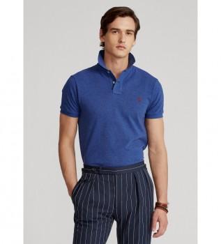 Buy Ralph Lauren Slim Fit Pique Polo SSKCSLM1blue