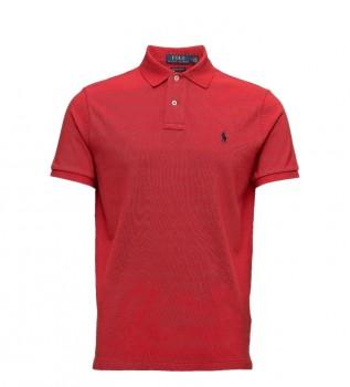 Acheter Ralph Lauren Polo Slim Fit rouge personnalisé