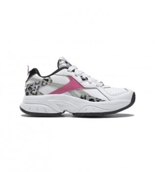 Buy Reebok Xeona slippers white, animal print