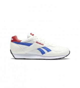 Buy Reebok Rewind Run Shoes white, blue, red