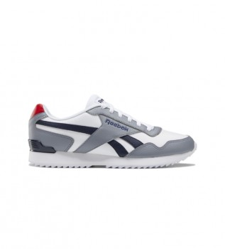 Buy Reebok Royal Glide Ripple Clip Sneakers grey, white, blue
