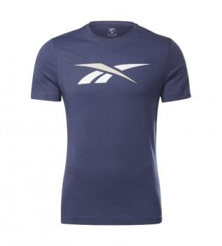 Buy Reebok Identity Big Logo T-shirt navy