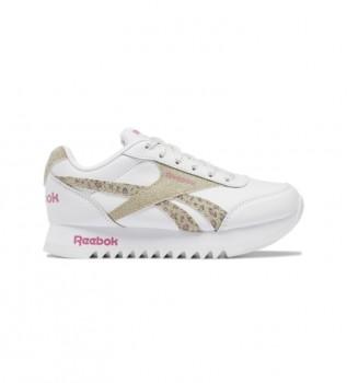 Buy Reebok Royal Classic Jogger 2 Platform animal print sneakers white