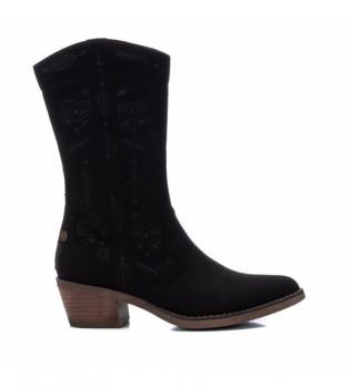 Buy Refresh Boots 072469 black -Heel height: 5cm