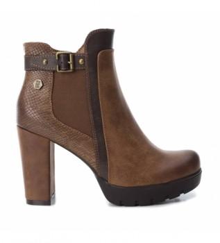 Comprar Refresh Botas de tornozelo 0726200 castanho - Altura do calcanhar 10cm