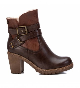 Buy Refresh Ankle boots 078969 brown -Heel height 8 cm