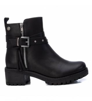 Buy Refresh Ankle boots 078975 black - Heel height 5cm - - Black