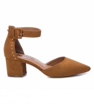 Buy Refresh Shoes 069513 camel -Heel height: 6cm