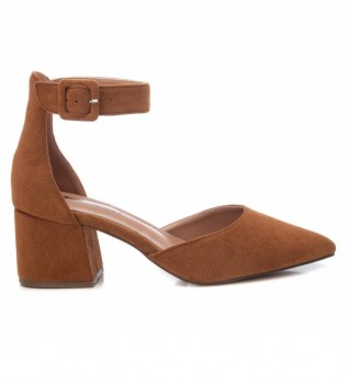 Buy Refresh Shoes 072865 brown -Heel height: 6cm