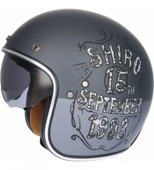 Shiro Casco Sh-235 Cromado Roto XL