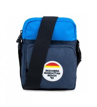 Acheter Skechers Petit sac à bandoulière unisexe S910 bleu -20x14,5x5,5cm