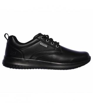 Comprare Skechers Sneakers in pelle Delson - Antigo nero