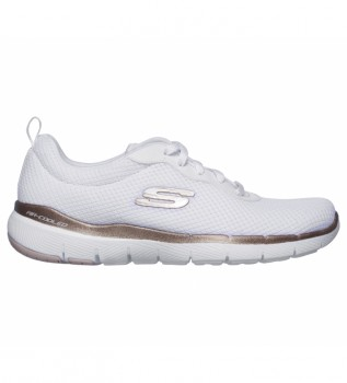 Buy Skechers Flex Appeal 3.0 First Insight shoes white