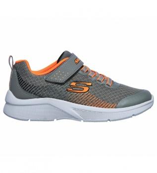 Buy Skechers Microspec shoes - Grey, orange cap