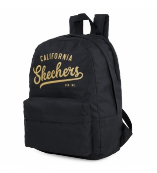 Buy Skechers Backpack Interior Ipad Tablet S904 black -46x30x14cm