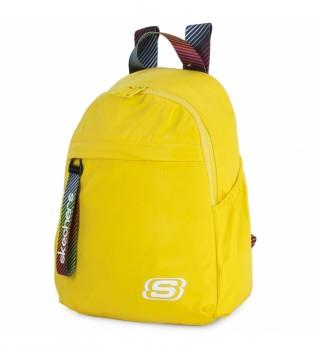 Comprare Skechers Zaino piccolo S895 giallo -32x23x12cm
