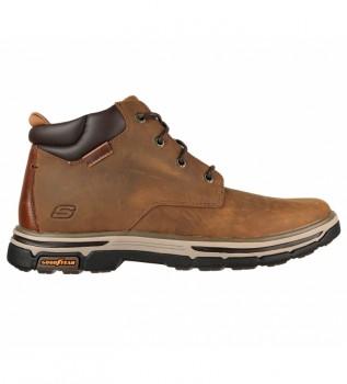 Comprare Skechers Segment 2.0 Stivali in pelle Brodgen Marrone