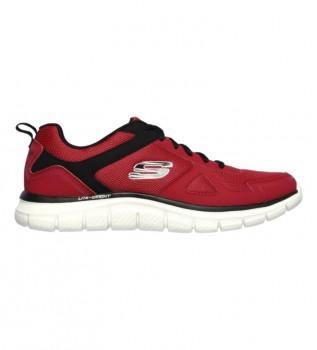 Comprar Skechers Pista de sapatos - Preto esclórico