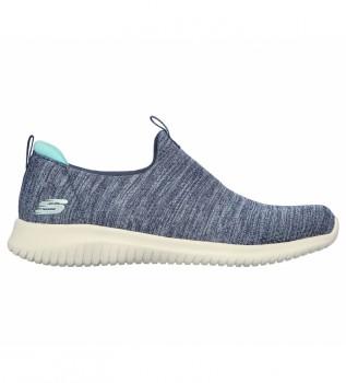 Buy Skechers Ultra Flex Sneakers - Gracious Touch blue