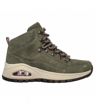 Comprar Skechers Botas de couro do tornozelo Uno Rugged Rugged Rugged One verde azeitona
