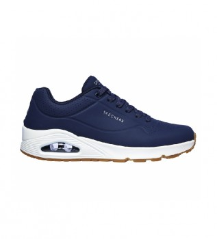 Buy Skechers Uno Stand On Air shoes blue