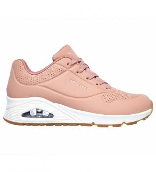 Buy Skechers Uno Stand On Air pink sneakers