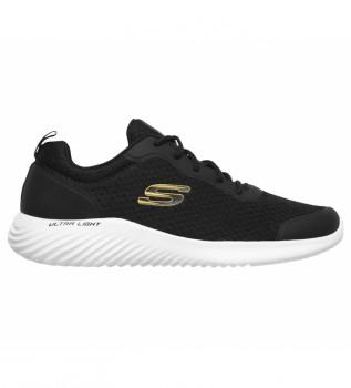Comprare Skechers Pantofole Bounder nero, oro