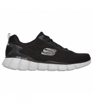 Acheter Skechers Equalizer 2.0 règle les chaussures Score Shoes noir blanc