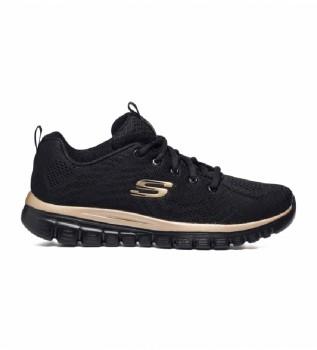 Buy Skechers Sneakers Graceful Get Connected black