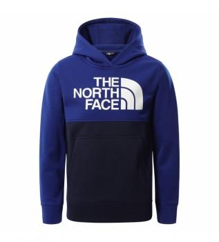 Acheter The North Face Sweat-shirt bleu Boy Surgeant P/O Block