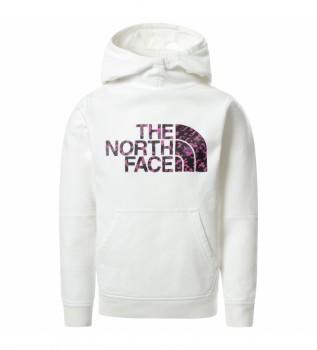 Acheter The North Face Drew Peak II Girl Hoodie blanc