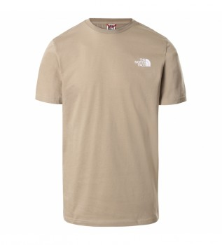 Acheter The North Face T-shirt Simple Dome beige