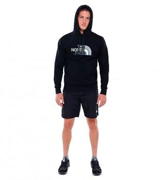 Buy The North Face Drew Peak cotton sweatshirt black
