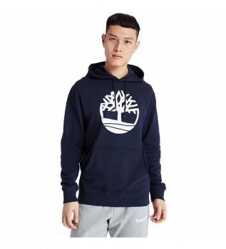 Acheter Timberland Sweat-shirt Core Logo P/O Hood Bb navy