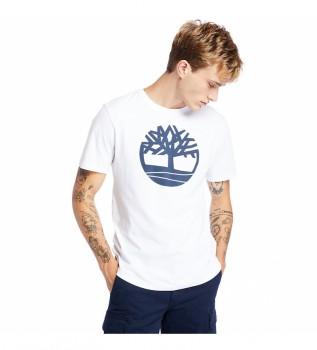 Comprare Timberland T-shirt bianca Kennebec River Brand Tree Tree