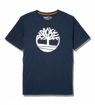 Acheter Timberland Kennebec River Brand Tree T-shirt marine