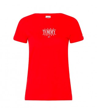 Comprar Tommy Hilfiger T-shirt Essential DW0DW11239 vermelha