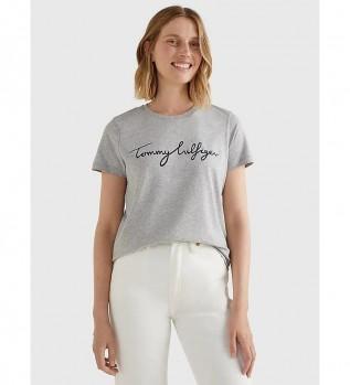 Comprar Tommy Hilfiger Heritage Crew Neck Graphic T-shirt cinzenta