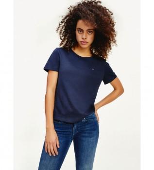 Acheter Tommy Hilfiger T-shirt à encolure en C marine