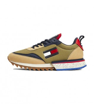 Comprar Tommy Hilfiger Tênis TJM Runner Mix Sneakers cáqui
