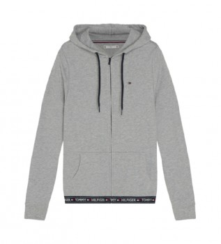 Acheter Tommy Hilfiger Sweat-shirt gris Cotton Terry Lounge