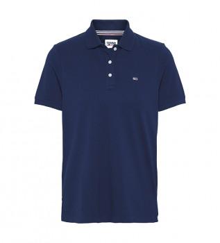 Comprar Tommy Hilfiger Camisa pólo fina da marinha