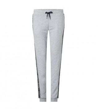 Acheter Tommy Hilfiger Pantalon de jogging avec logo gris