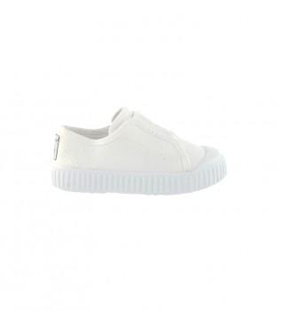 Comprar Victoria Sapatos Elásticos de Basquetebol em Tela Branca