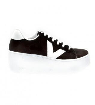 Acheter Victoria Valiente Plataforma chaussures noires - Hauteur de la plate-forme : 7cm