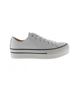 Acheter Victoria Sneakers Tribe Double blanc