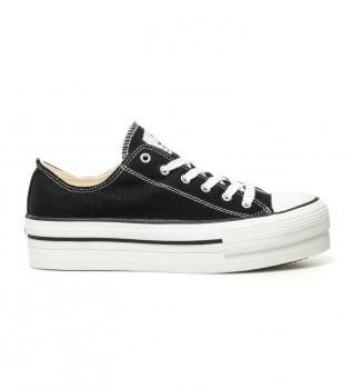 Acheter Victoria Chaussures de basket-ball noires - Hauteur plate-forme: 4 cm-
